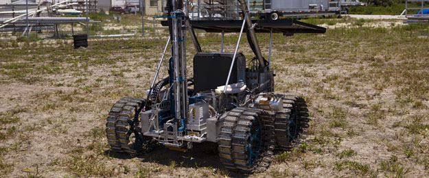 Neptec rover at KSC