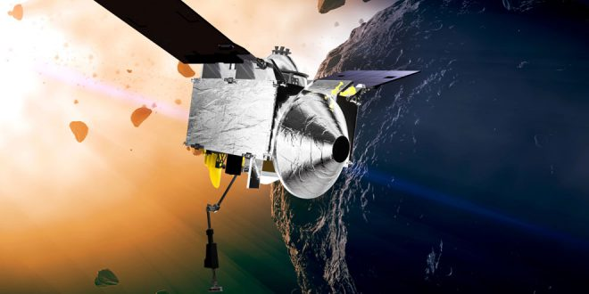 The OSIRIS-REx spacecraft Canadian built laser altimeter may have a failed component