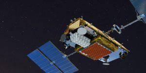 Iridium NEXT satellite.