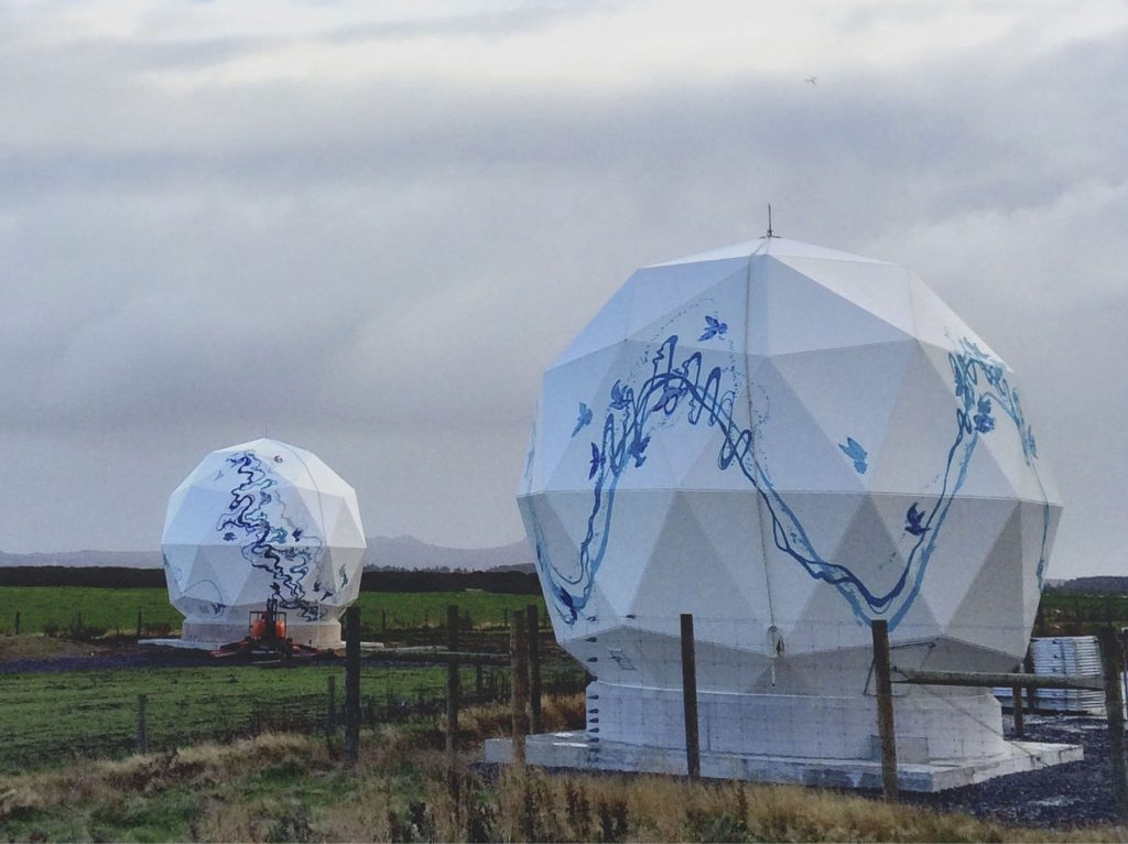 Planet Labs New Zealand ground station.