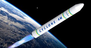 Maritime Launch Services Cyclone 4M rocket