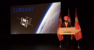 ISED Minister Navdeep Bains making funding announcement