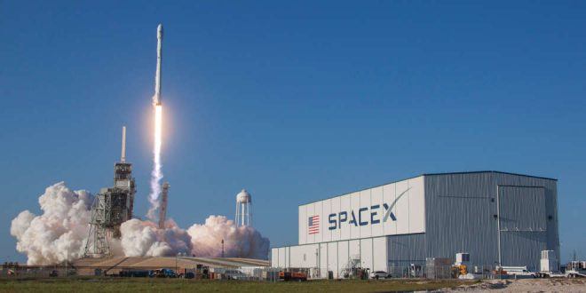 SpaceX Falcon 9 launch of SES10 on March 30, 2017