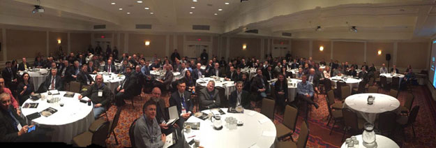 2016 Canadian SmallSat Symposium opening remarks audience