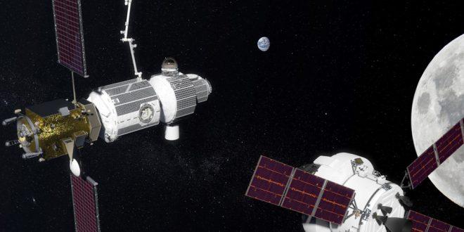 Deep space gateway in Cislunar space