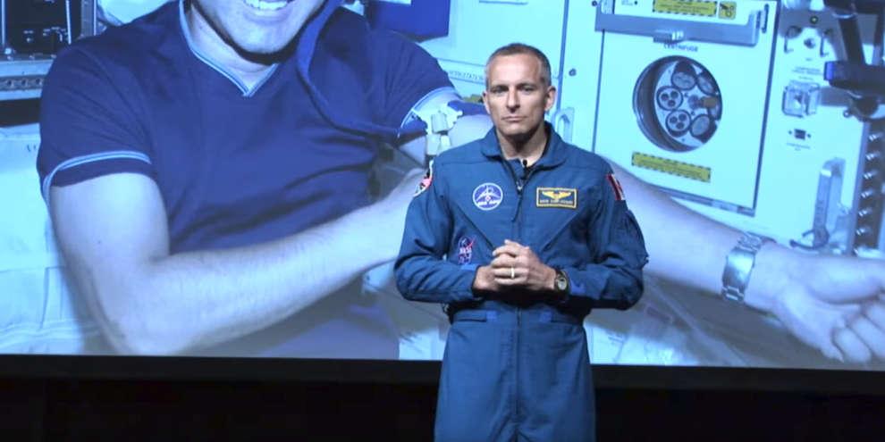 Astronaut David Saint-Jacques discusses new science experiments