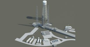 Artist rendering of the MLS launch pad