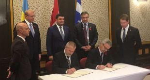 Canada Ukraine Sign MOU