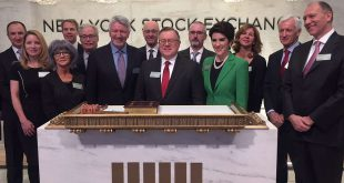 President and CEO Howard Lance and members of the leadership team had the honor of ringing the closing bell at the @NYSE this afternoon