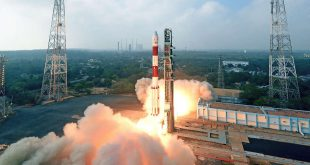 India launches the PSLV-C40 mission with Telesat LEO-1 on-board