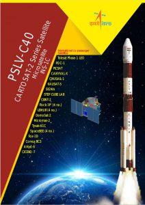 ISRO PSLV-C40 brochure.