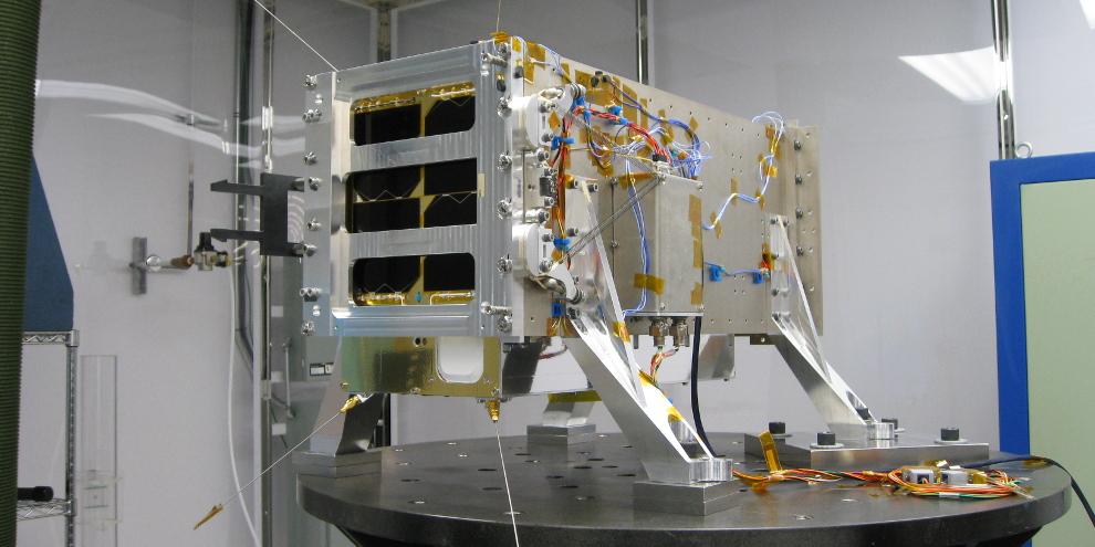 GHGSat satellite Claire