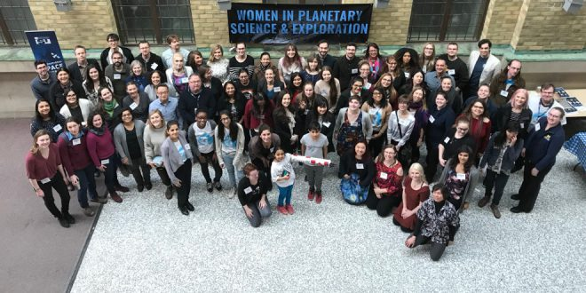Women in Planetary Science and Exploration conference group photo
