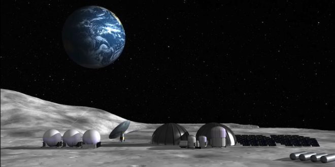 United Launch Alliance moon mining concept.