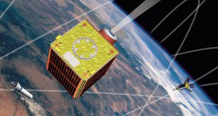 File photo: Artists rendering of the Sapphire satellite