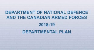 Department of National Defence Departmental Plan 2018-19