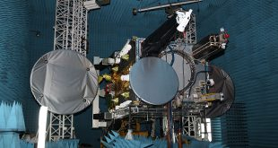 Lybid satellite during testing