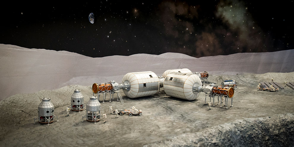 Bigelow moon base, part of the Beyond Planet Earth: The Future of Space Exploration
