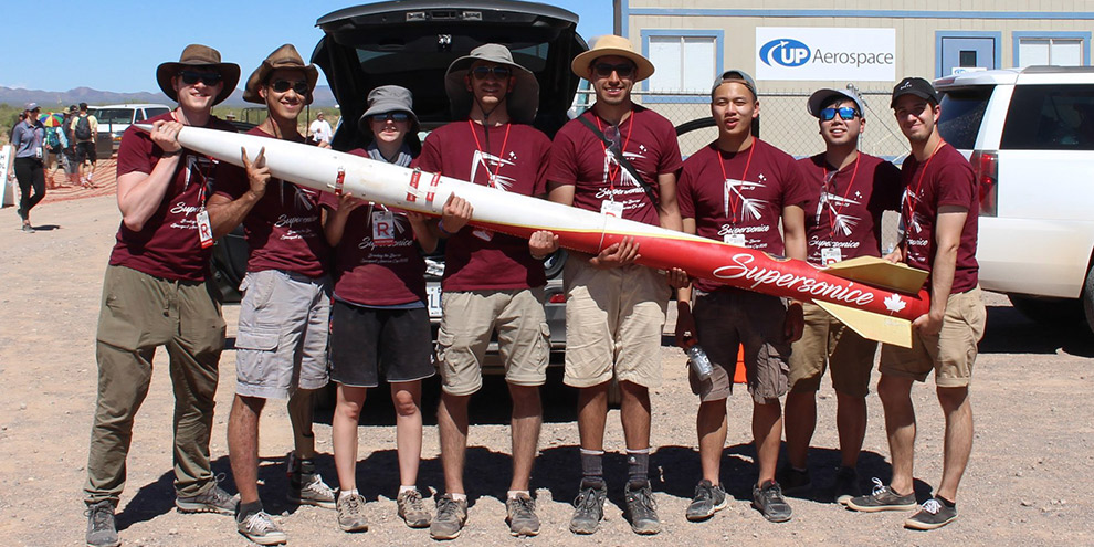 The Space Concordia Rocketry Division Team
