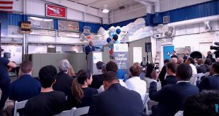 Landon Taylor CEO of Base 11 announcing the Student Space Challenege