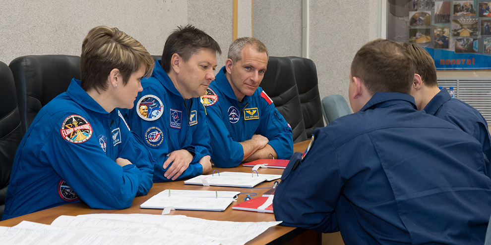 David Saint Jacques Expedition 56 backup crew