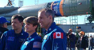 David Saint-Jacques Expedition 56 launch