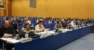 The final session of the 61st meeting of the United Nations Committee on the Peaceful Uses of Outer Space