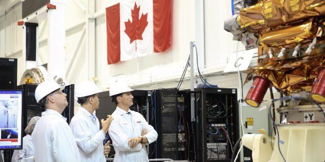 Prime Minister Trudeau at MDA