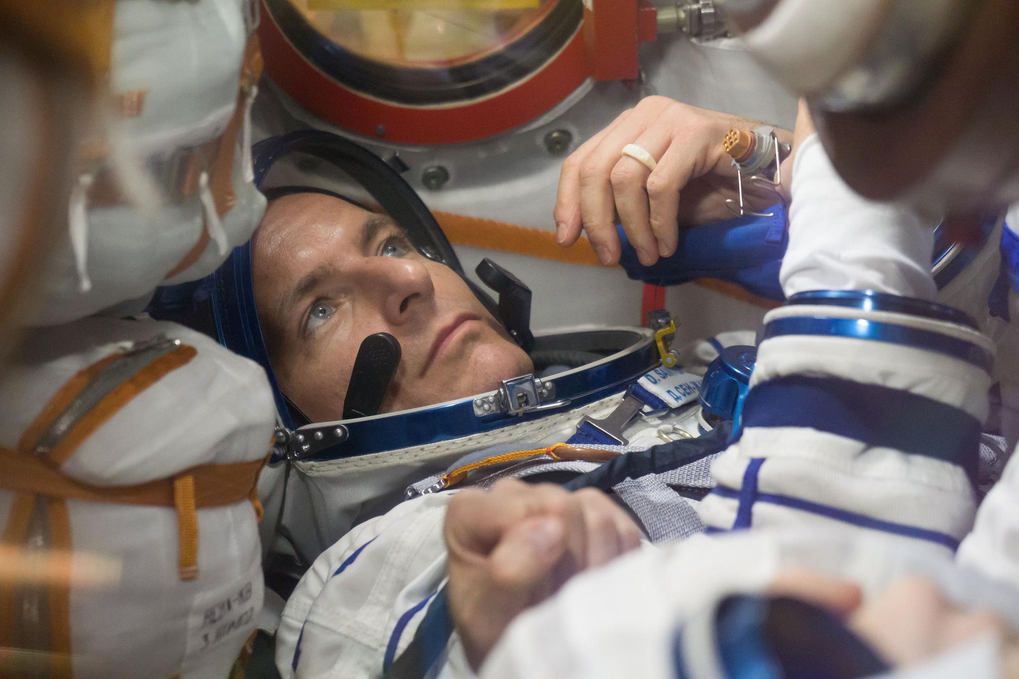 Expedition 58 crew member David Saint-Jacques