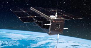 Kepler Communications artist illustration of one of their satellites