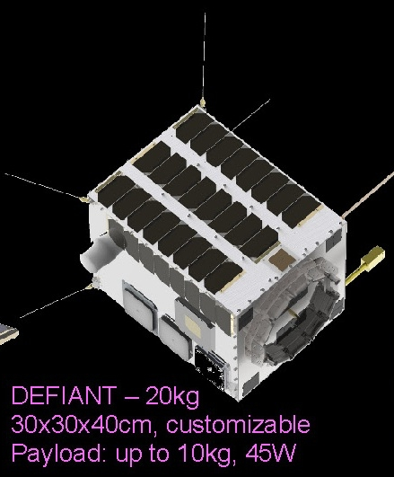 SFL Defiant platform