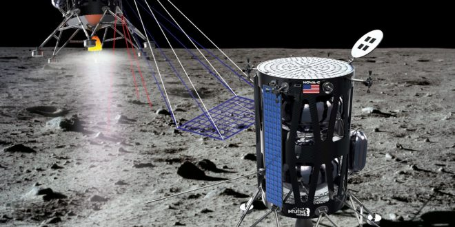 ntuitive Machines robotic Moon lander is part of NASA's Commercial Lunar Payload Services