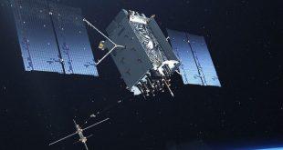 Artist rendering of the US Air Force GPS III satellite