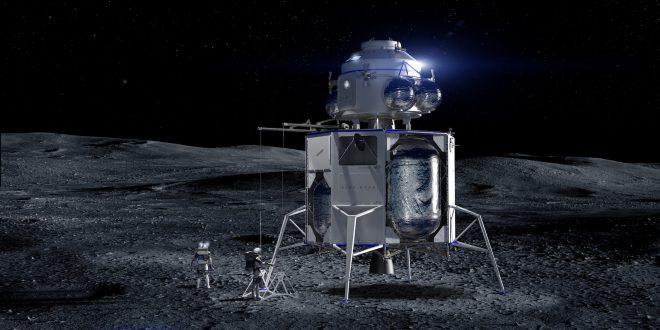 Blue Origin lander and ascent module