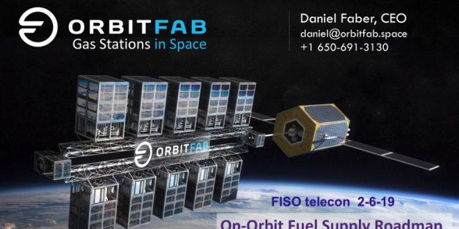 Daniel Faber introduction slide for Orbit Fab presentation