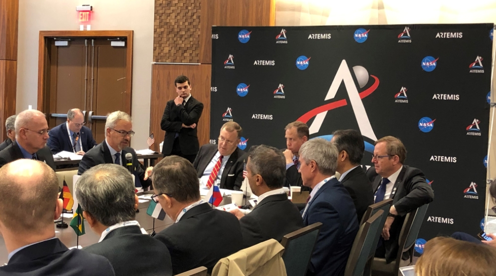 Heads of space agencies meet at the International Astronautical Congress.