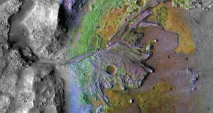Jezero crater - On ancient Mars, water carved channels and transported sediments to form fans and deltas within lake basins.