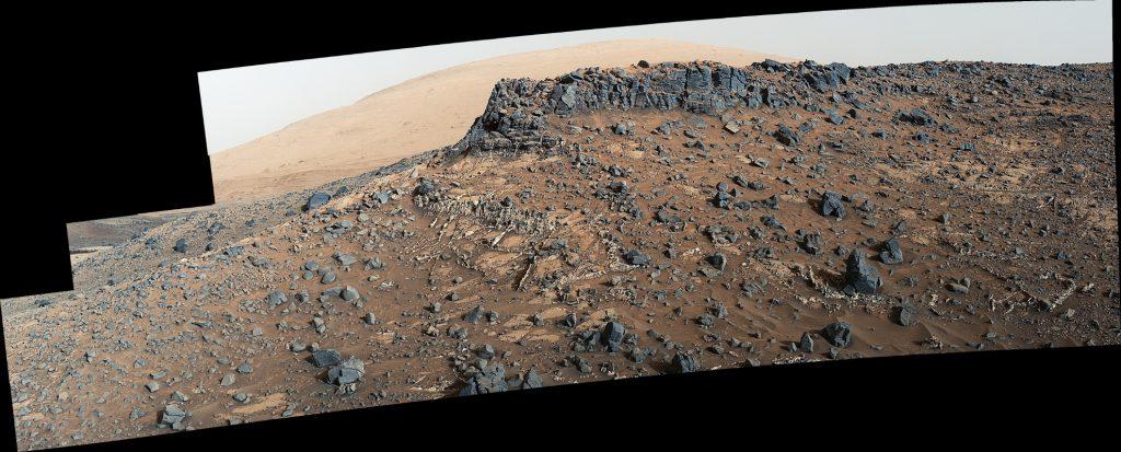 Veiny 'Garden City' Site and Surroundings on Mount Sharp, Mars
