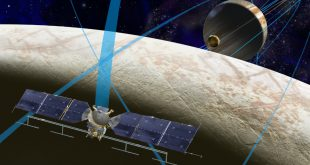 Artist's rendering of NASA's Europa mission spacecraft