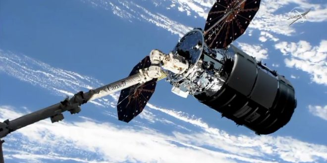 Canadarm spacecraft capture