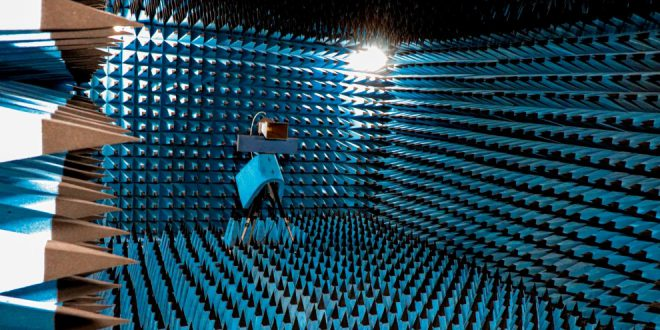 Anechoic chamber at Kepler's manufacturing facilities