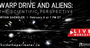 Warp Drive and Aliens - A Perimeter Institute Lecture