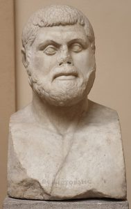 A Roman-era bust of Themistocles.