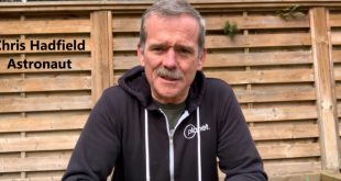 Astronaut Chris Hadfield on self isolation