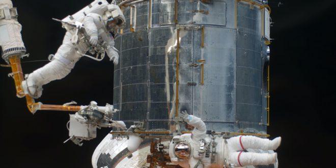 NASA Hubble Space Telescope on-orbit servicing