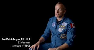 David Saint-Jacques on NASA's Down to Earth - Shining Oasis serie