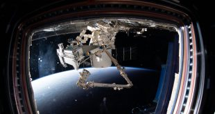 The Canadarm2 robotic arm and Dextre, the fine-tuned robotic hand, are remotely controlled on Earth to extract Bartolomeo from the pressurized trunk of the SpaceX Dragon resupply ship. Bartolomeo is a European Space Agency science payload system that will enable numerous external science experiments to be conducted and controlled outside the space station