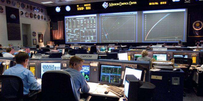 NASA JSC Mission Control Center STS-118