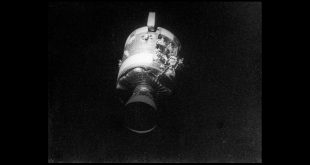 50 years ago today, Apollo 13 commander Jim Lovell reported to NASA's Apollo Mission Control Center that an oxygen tank had ruptured in the spacecraft's Service Module. This photo was taken on April 17, 1970, after the Apollo 13 crew jettisoned the Service Module shortly before their return to Earth and their (successful) splashdown in the Pacific Ocean