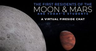 A Virtual Fireside Chat: The First Residents of the Moon & Mars are Today's Students